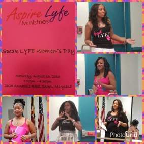 Speak Lyfe Event